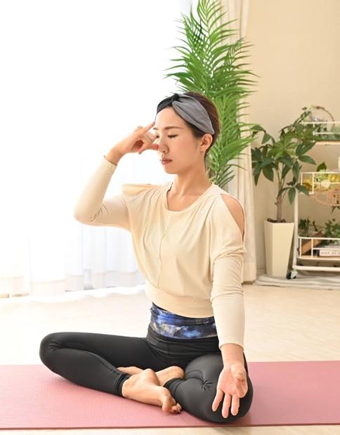 妊活ヨガのポイント 【瞑想を通して今の自分を認める…の画像