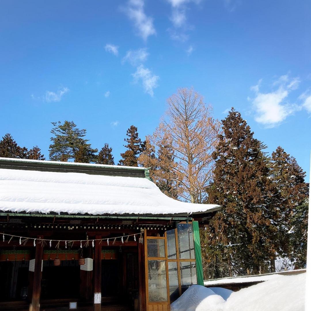 雪が多かった山形☆春近し【東北山形】の画像
