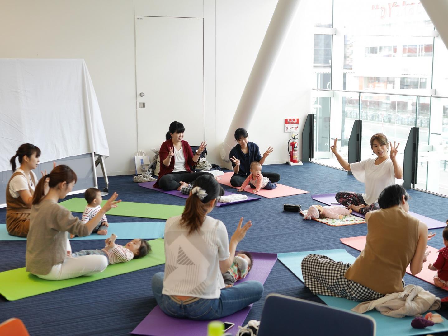 北海道札幌市でおすすめヨガ資格講座【ベビーヨガ …の画像