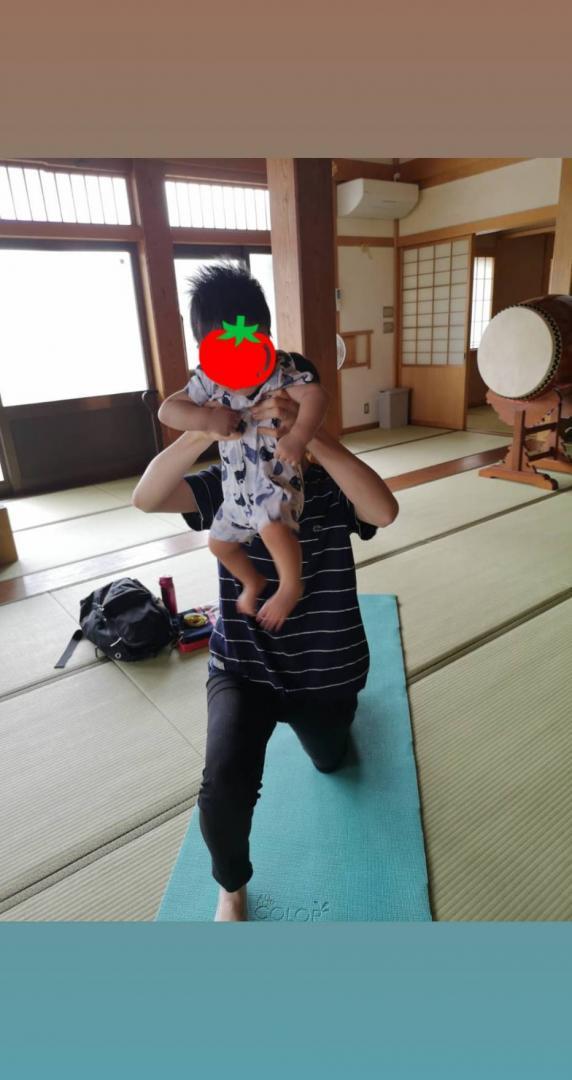 子連れ産後骨盤スリムヨガ【金曜クラス】